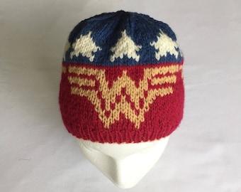Wonder Woman Hat, Beanie
