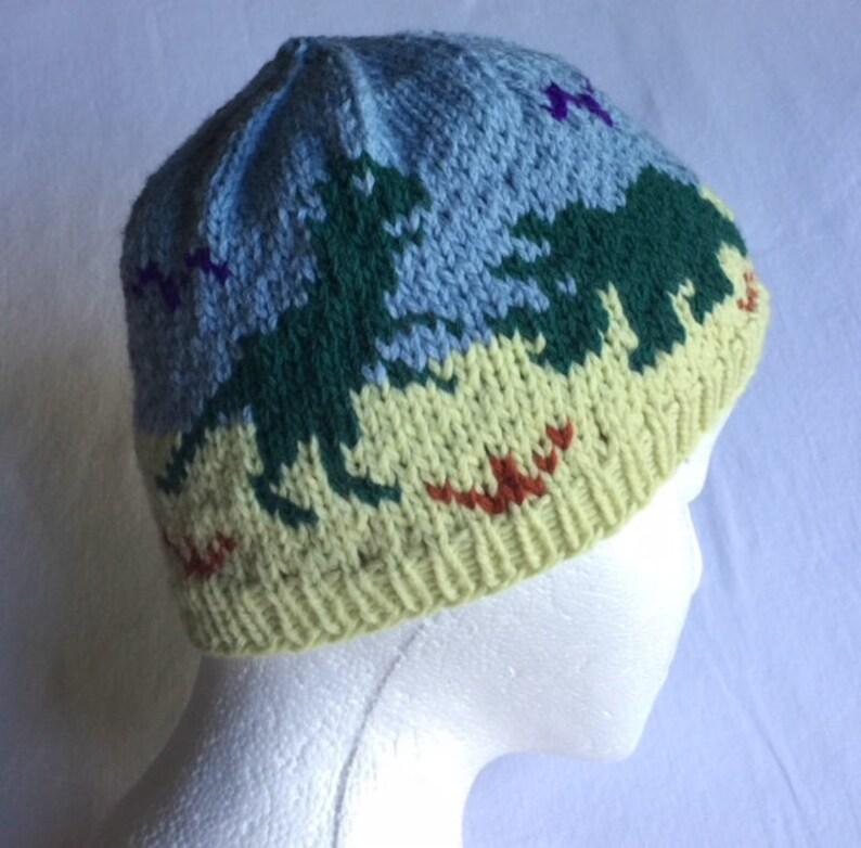 61b4399b222 Dinosaurs Stocking Cap Winter Hat Beanie Dinos Winter Hat