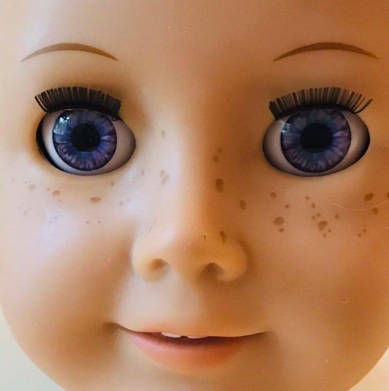 последнее как сделать глаза куклы редактор фото пятна