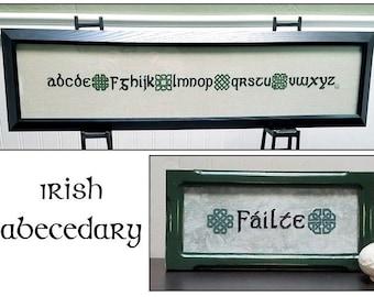 Irish Abecedary
