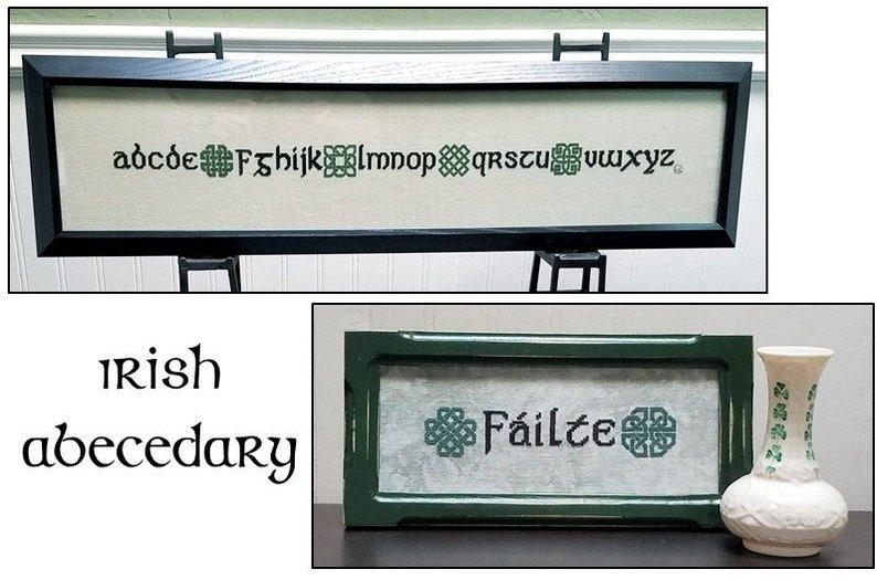 Irish Abecedary image 0