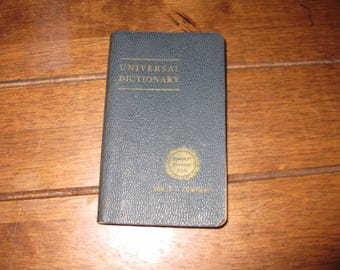 UNIVERSAL DICTIONARY Copyright 1941 The John C Winston Co Pocket Dictionary Compliments Of Sunheat Furnace Oils Blue Sunoco Sunoco Motor Oil