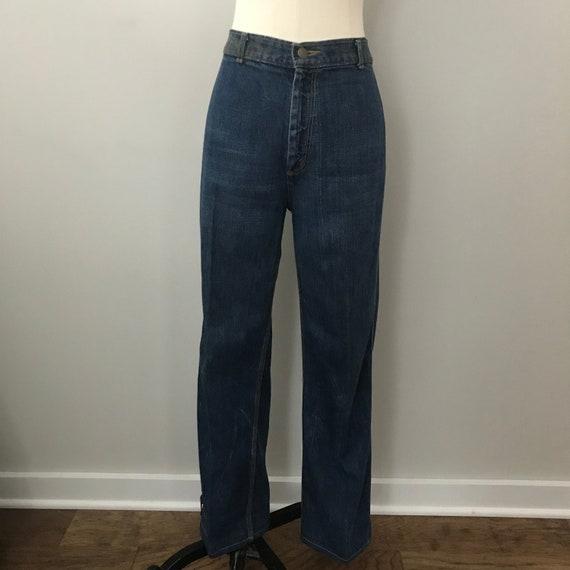 Vintage 70's High Waist Landlubber Boot Leg Jeans