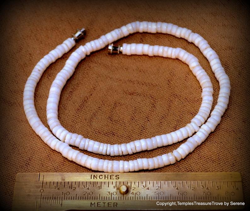 Puka Shell Choker~Hawaiian Puka Shell Choker~ Circa 1970/'s Puka Shell Choker~Boho Chic Choker~Beach Bum Choker~Classic Unisex Surfer Jewelry