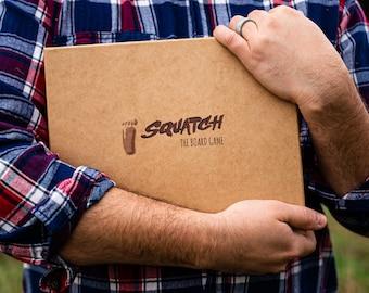 Teen Gift Squatch Board Game // Teens Teenagers // Gamer Gift // Sasquatch Bigfoot Cryptid Yeti // Family Gift
