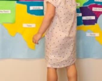 Montessori Kids Felt Map United States // Montessori USA map activity // US Felt Map Board // Map Birthday Party Decor // Felt Wall Board