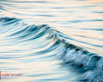 "Soft Water // Framed Fine Art 30x40"" // Limited Edition // Abstract Ocean Water Coastal Beach Artwork"