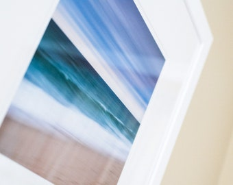 """Quidnet Abstract 2 // Framed Fine Art 20x20"""" // Limited Edition // Coastal Ocean Beach Water Artwork Photography"""