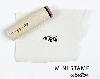 Time Stamp \u03a68mm Mini Stamp Clock Rubber Stamp
