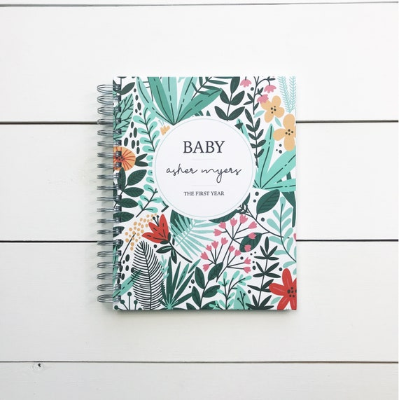 Baby Memory Book Personalized