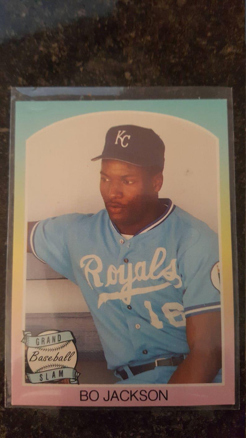 Bo Jackson 1989 Grand Slam Baseball Card Nmtm Condition