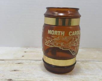 North Carolina, Siesta Ware, Art Mark, 1970s collectible state glass