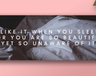 The 1975 - 'I Like It When You Sleep' Banner Poster