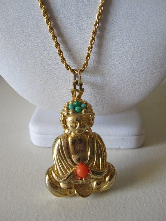 LISNER BUDDHA PENDANT Necklace