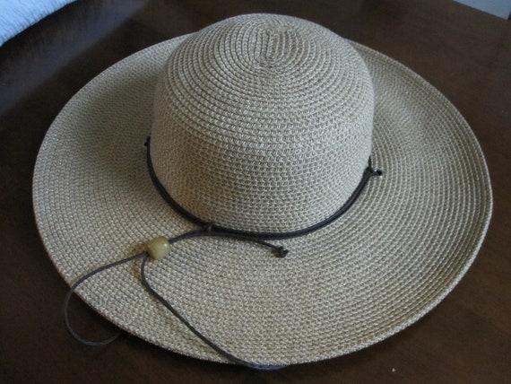 WIDE BRIM STRAW Hat By Cappelli