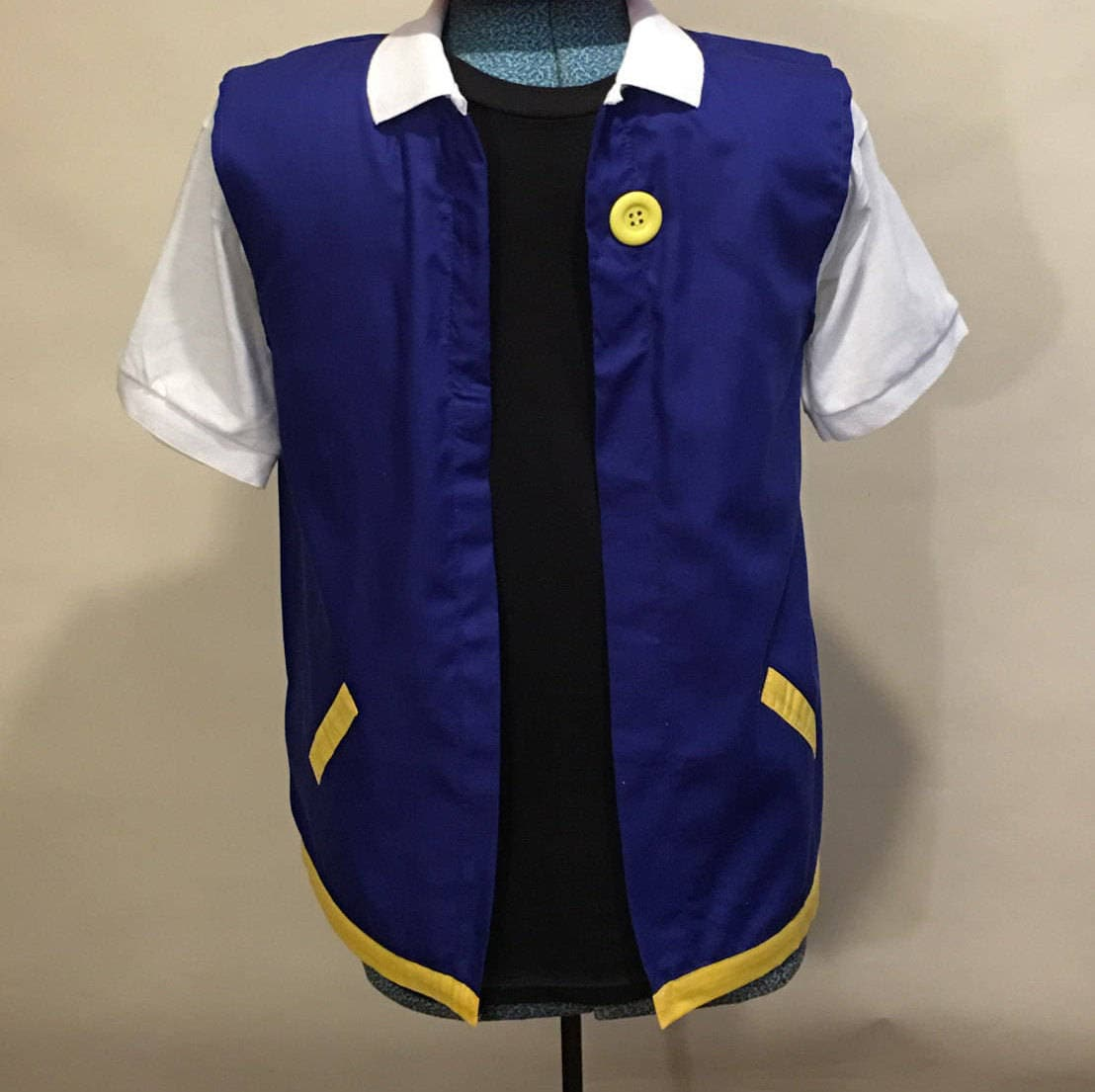 Adulte 2XL - POKEMON Trainer Cosplay - ASH Ketchum Costume Cosplay Trainer XXL a77b31