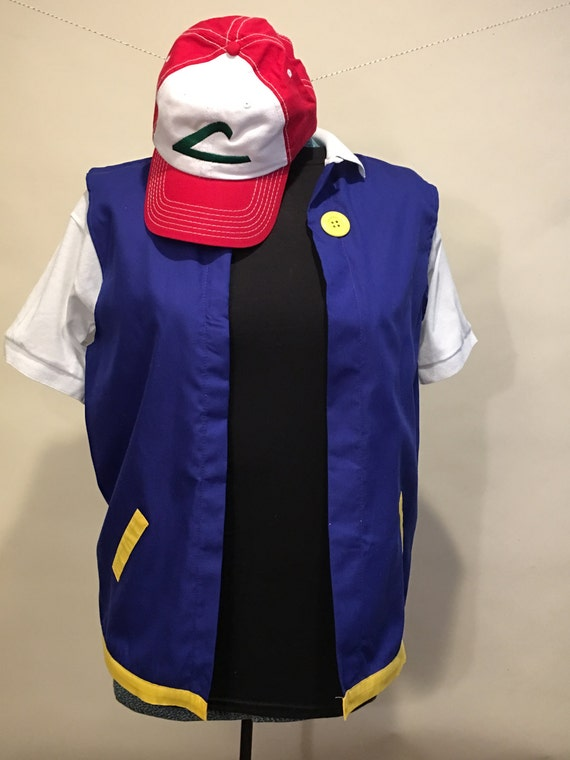 4T   Jacket only 18 mo 3T Ash Ketchum Cosplay 2T Child Pokemon trainer Costume