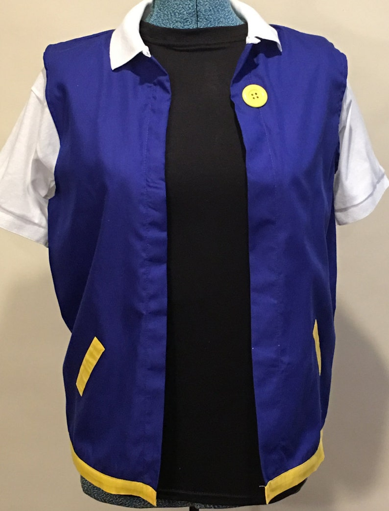 Adult Medium Pokemon Trainer Ash Ketchum Kostüm Cosplay Etsy