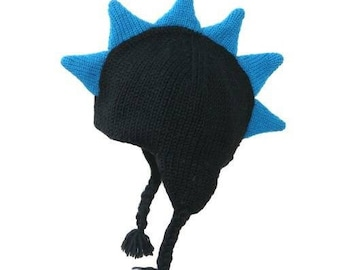 Black Mohawk Hat 2T - 4T