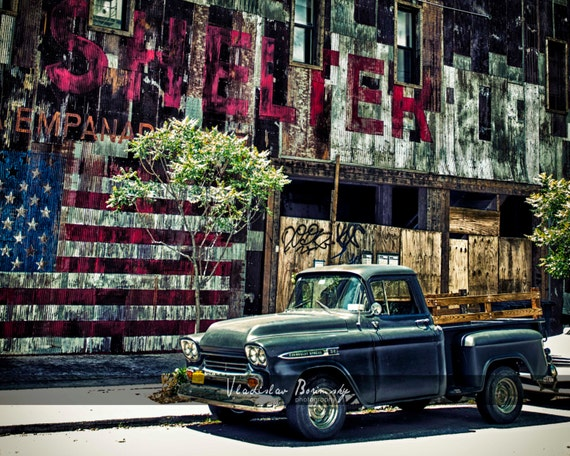 Classic Car Photography Classic Chevy Apache Parked In Etsy