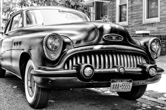 Classic Car Photography Classic Buick Eight Brooklyn New Etsy