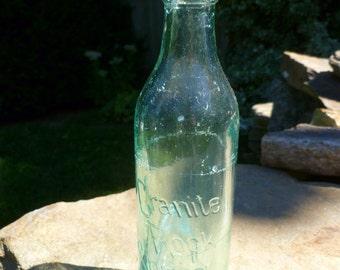 Vintage Granite Rock Spring Bottle Registered 8 fluid ounces