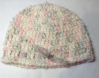 Crochet / Baby Hats / Girls Hats / Pink Hats / Crochet Hats / Hats / Kids Hats / Winter Accessories / Winter Fashion