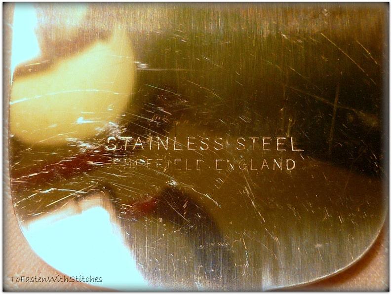Vintage Pearl Handle Cake Slice Stainless Steel Sheffield England