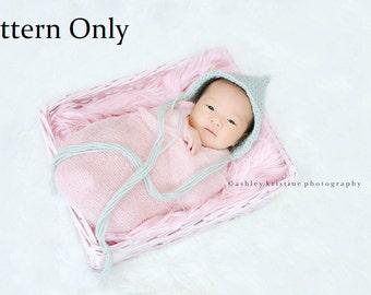 Sofort Download Tunesisch Häkeln Baby Bonnet Muster Etsy