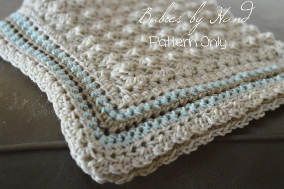Baby Blanket Crochet Pattern Baby Afghan Pattern Baby Etsy