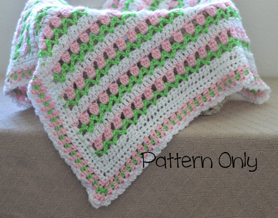 Baby Decke Häkelmuster Baby Afghan Baby Häkelmuster Decke | Etsy