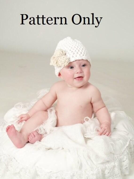 Patrón de ganchillo de recién nacido bebé ganchillo patrón | Etsy