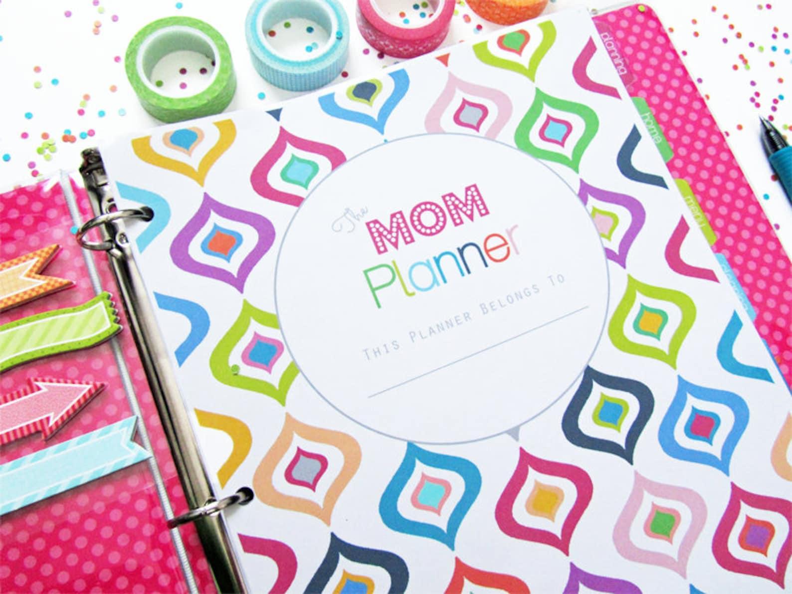 Mom Planner Household Binder