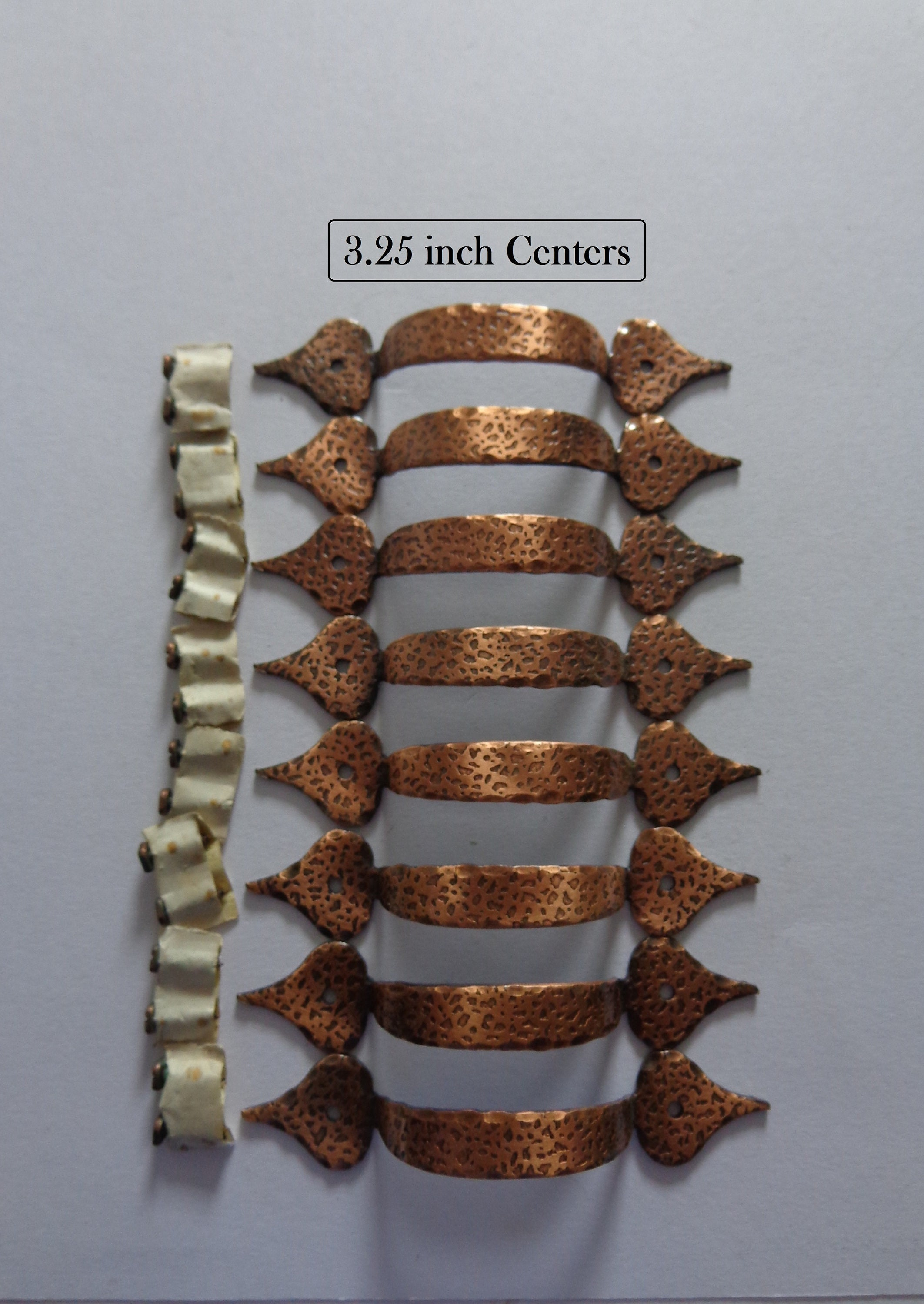 8be8665405c Antique Copper Colonial Hammered Pulls