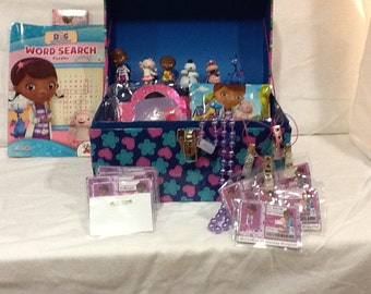 Doc McStuffins,Sofia the First and Jake and the neverland Pirates Prefilled Trunks
