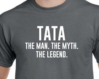 2cd5c02c9ae6 Funny Tata Shirt - Tata The Man the Myth The Legend - Tata Gift - Tata  Tshirt