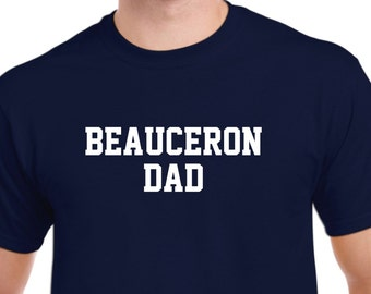 Beauceron Dad T Shirt Gift