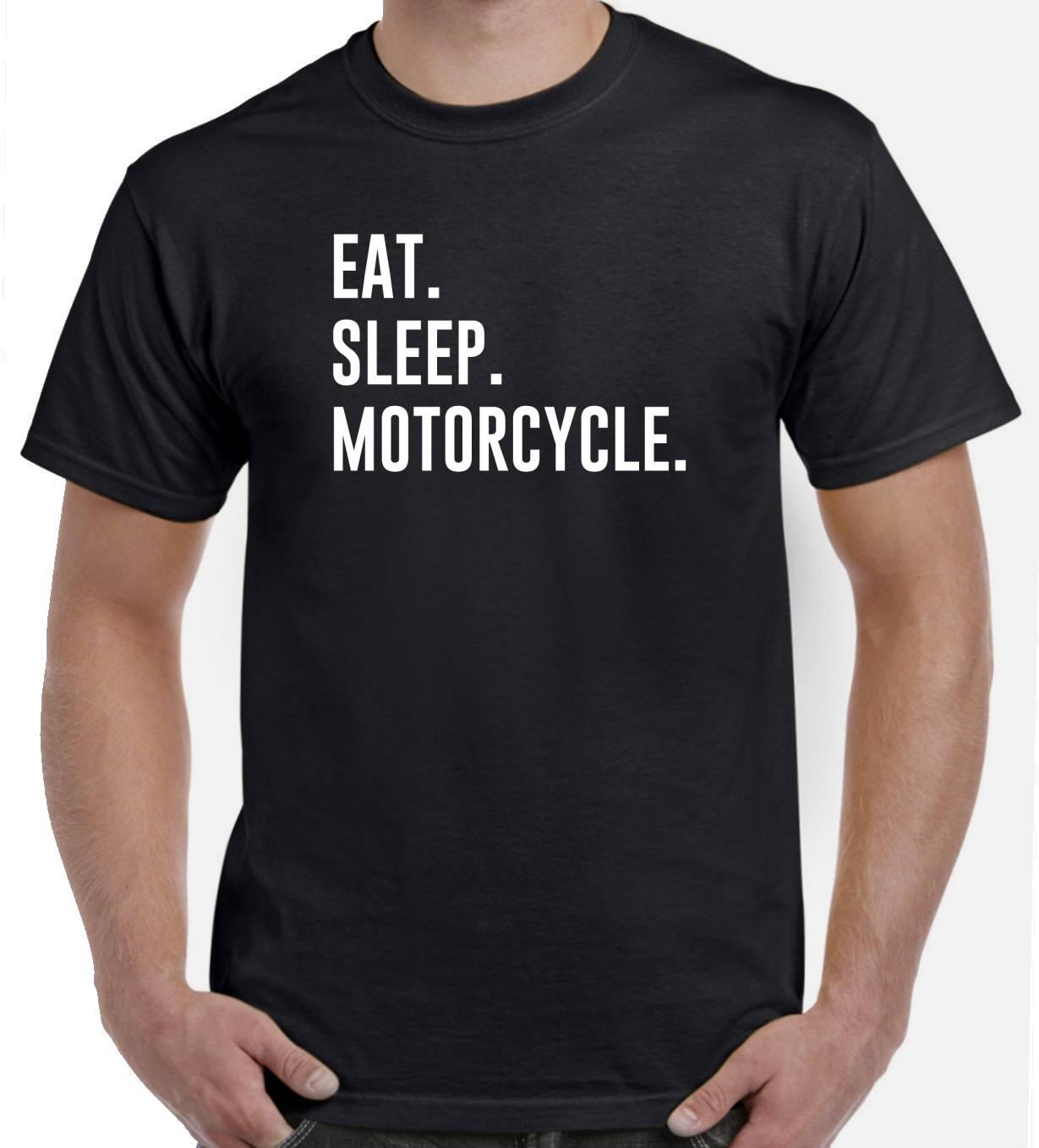 motorrad shirt essen schlaf motorrad t shirt motorrad. Black Bedroom Furniture Sets. Home Design Ideas