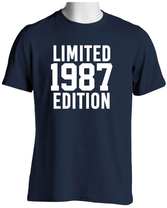 31st Birthday Shirt Limited Edition 1987 Gift For