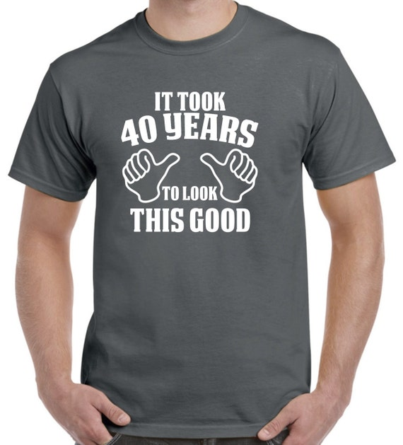 40th Birthday Gift Shirt For Him Of Her 40 Years