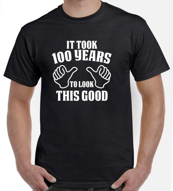 100th Birthday Gift 100th Birthday Shirt For Him Or Her 100 Etsy