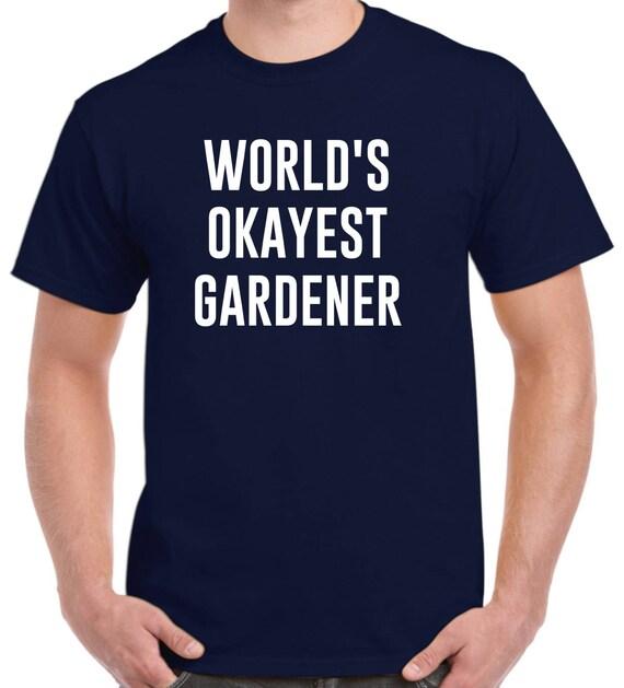 du jardinier chemise monde okayest jardinier t shirt cadeau etsy. Black Bedroom Furniture Sets. Home Design Ideas