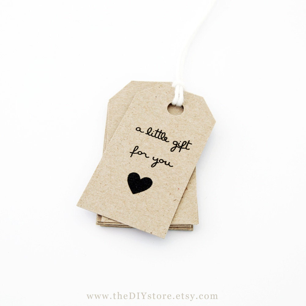 Gift Tag Printable Text Editable SMALL Size Tags Favor INSTANT Digital Download Thank You Wedding