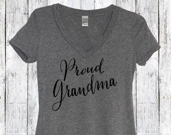 Proud Grandma, Best Grandma Shirt, Grammy shirt, Gran shirt, Best Grandma ever, New Grandma, Grandma