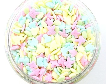 Mini Pastel Easter Assorted Sprinkles are just to cute on your Easter baked treats.