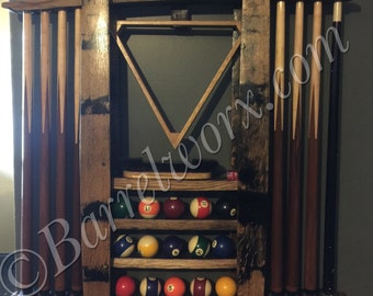 Pool Stick Rack Etsy