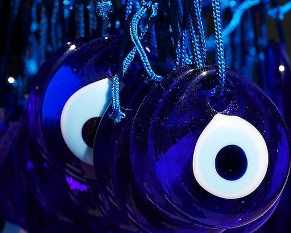 50, Pieces, 1 5 Inch Turkish Nazar Evil Eye Good Luck Charm Greek Ornament  Wedding Party Gift