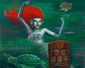 The Siren (Fine Art Print)