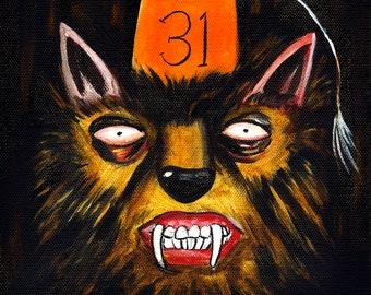 Secret Society of Halloween Fiends: The Treasurer (Original Painting)