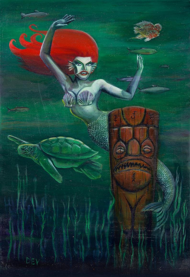 The Siren Fine Art Print image 0